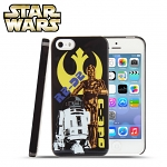 iPhone 5 / 5s Star Wars - R2D2 & C3PO Back Case (Limited Edition)