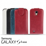 Samsung Galaxy S4 mini Fashionable Flip Top Faux Leather Case