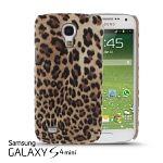 Samsung Galaxy S4 Mini Leopard Stripe Suede Case
