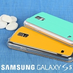 Samsung Galaxy S5 Embossed Flip View Case