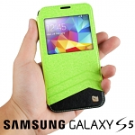 Xundo Flip View Cover Case for Samsung Galaxy S5