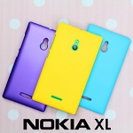 Nokia XL Rubberized Back Hard Case
