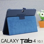 Folio Leather Case for Samsung Galaxy Tab 4 10.1 (Side Open)