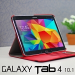 Samsung Galaxy Tab 4 10.1 Rotate Stand Fabric Case