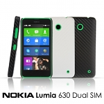 Nokia Lumia 630 Dual SIM Twilled Back Case