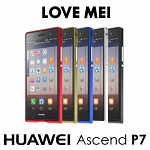 LOVE MEI Huawei Ascend P7 Ultra Thin Metal Bumper