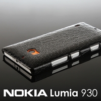 Nokia Lumia 930 Crocodile Leather Back Case