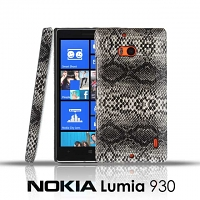 Nokia Lumia 930 Faux Snake Skin Back Case