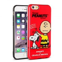 iPhone 6 / 6s Peanuts Snoopy Soft Case (SNG-87D)