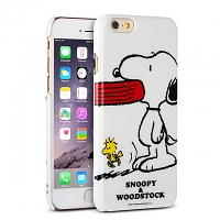 iPhone 6 Peanuts Snoopy Hard Case (SNG-88B)