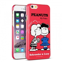 iPhone 6 Peanuts Snoopy Hard Case (SNG-88C)