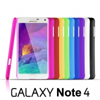 Samsung Galaxy Note 4 Rubberized Back Hard Case