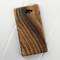 Sony Xperia M2 Woody Patterned Back Case