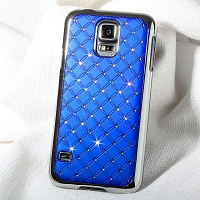 Samsung Galaxy S5 Shiny Rhombus Back Case