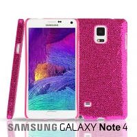 Samsung Galaxy Note 4 Glitter Plactic Hard Case