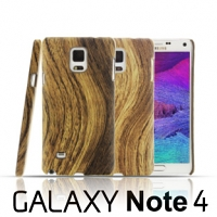 Samsung Galaxy Note 4 Woody Patterned Back Case
