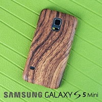 Samsung Galaxy S5 mini Woody Patterned Back Case