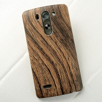 LG G3 S Woody Patterned Back Case