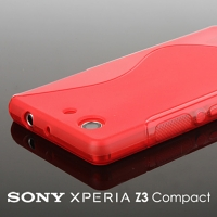 Sony Xperia Z3 Compact Wave Plastic Back Case