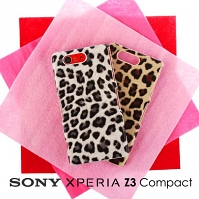Sony Xperia Z3 Compact Leopard Skin Back Case
