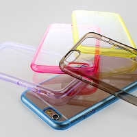 iPhone 6 Plus Soft Case with Fluorescent Bumper