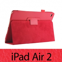Folio Leather Case for iPad Air 2 (Side Open)