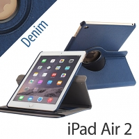 iPad Air 2 Rotate Stand Fabric Case