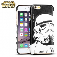 iPhone 6 / 6s Star Wars - Stormtrooper Leather Back Case