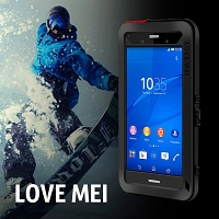 LOVE MEI Sony Xperia Z3 Powerful Case