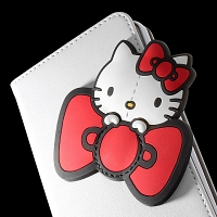 iPhone 6 Plus Hello Kitty PU Flip Case