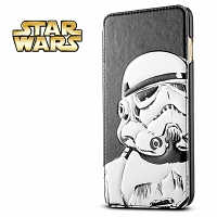 iPhone 6 Plus Star Wars - Stormtrooper Leather Flip Case