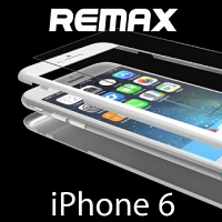 REMAX 0.3mm 360° Slim case with Tempered Glass for iPhone 6