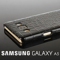 Samsung Galaxy A5 Crocodile Leather Back Case