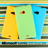 Microsoft Lumia 535 Dual SIM Rubberized Back Hard Case