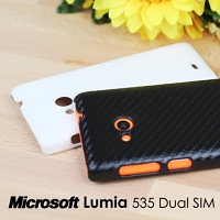 Microsoft Lumia 535 Dual SIM Twilled Back Case