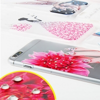 iPhone 6 Plus Ultra Thin Bling-Bling Back Case
