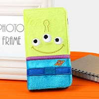 iPhone 6 Toy Story - Alien Plush Folio Case