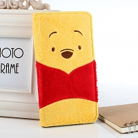 iPhone 6 Plus Disney - Winnie the Pooh Plush Folio Case