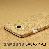 Samsung Galaxy A3 Pine Coated Plastic Case