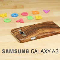 Samsung Galaxy A3 Woody Patterned Back Case