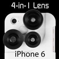 iPhone 6 / 6s 4-in-1 Lens Case