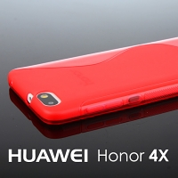 Huawei Honor 4X Wave Plastic Back Case