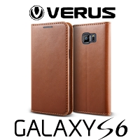 Verus Crayon Diary Leather Case for Samsung Galaxy S6