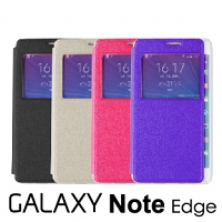 Samsung Galaxy Note Edge Flip View Case