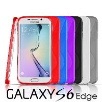 Samsung Galaxy S6 edge Wave Plastic Back Case