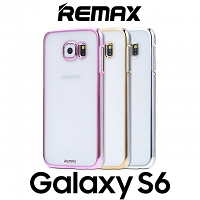 REMAX Samsung Galaxy S6 Clear Electroplating Transparent PC Case