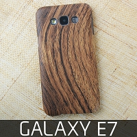 Samsung Galaxy E7 Woody Patterned Back Case