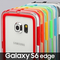 Samsung Galaxy S6 edge Transparent Ultra Slim Bumper