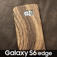 Samsung Galaxy S6 edge Woody Patterned Back Case