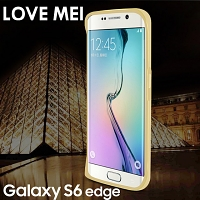 LOVE MEI Samsung Galaxy S6 edge Curved Metal Bumper